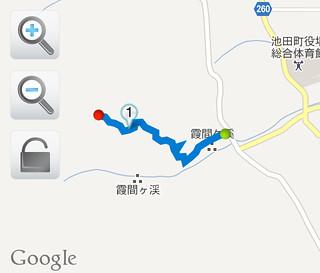 池田山 登山ルート1