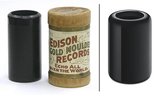 Edison Cylinder Record / 2013 Mac Pro | by gregory.prichard