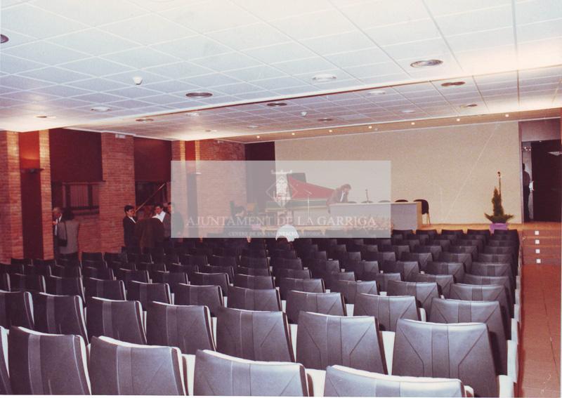 Inauguració Sala d'actes Joan Garriga 24/03/1990