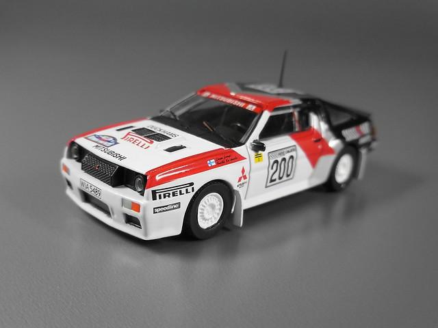 MITSUBISHI Starion 4WD Gr.B Milles Piste 1984