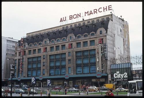 1981 03 au bon march boulevard du jardin botanique brux for Boulevard du jardin botanique 20