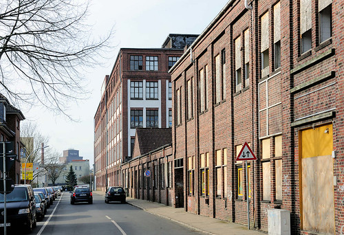 6065 Backsteinarchitektur  Industriearchitektur in Elmsho