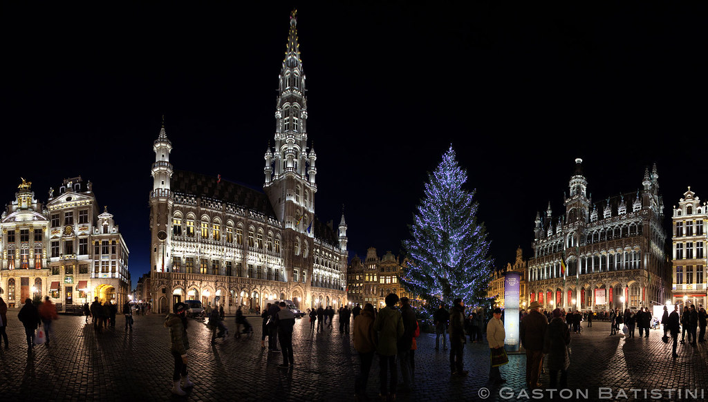 Plaisirs d'hiver,Grand place , Brussels, Belgium