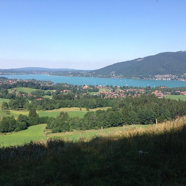 Geniesserlandregion Tegernsee - Wanderweg zum Bauer in der Au