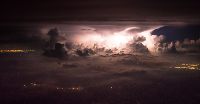 Thunderstorm over Alabama