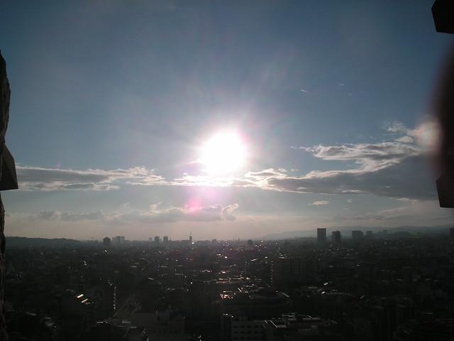view from la sagrada familia, barcelona