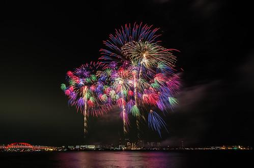 Kobe Fireworks 2014 18