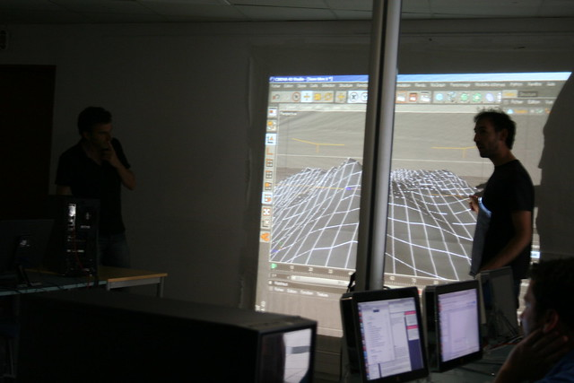 Atelier Vidéo Mapping