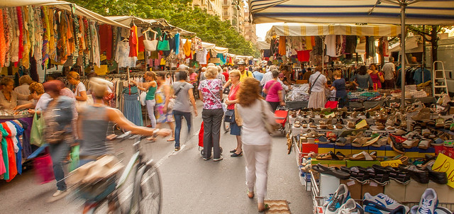 All the colours of the market