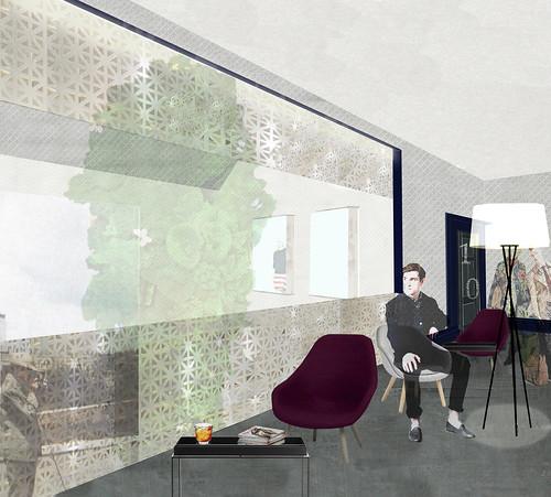 Interior design emma mcnickle personal project hotel for Interior design glasgow