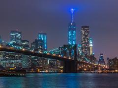 Brooklyn Bridge Lights