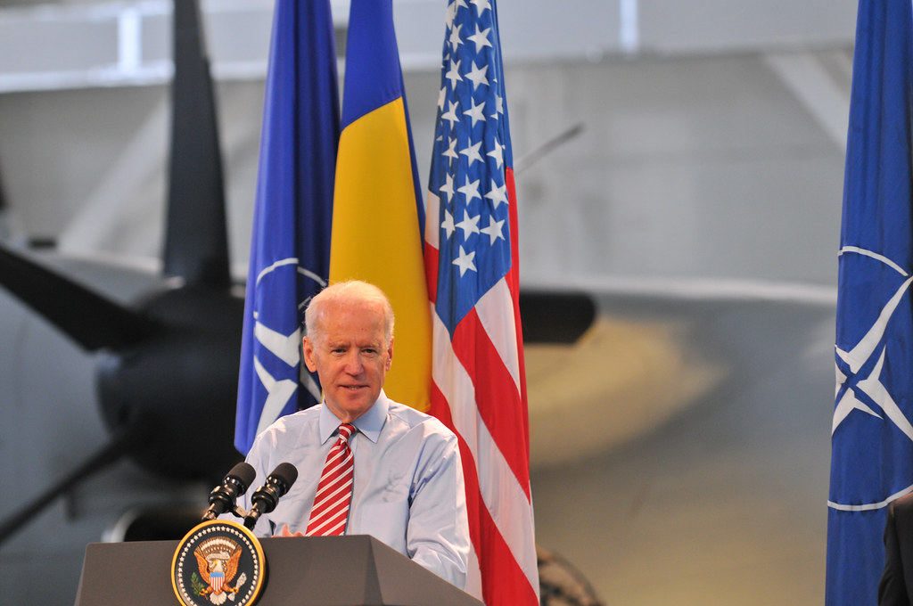 Vicepresedintele Joe Biden in Romania