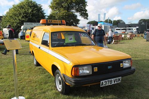 1984 Morris Ital AA Van