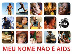 Meu nome não é AIDS. Sou Cláudio Souza, soropositivo desde 1994