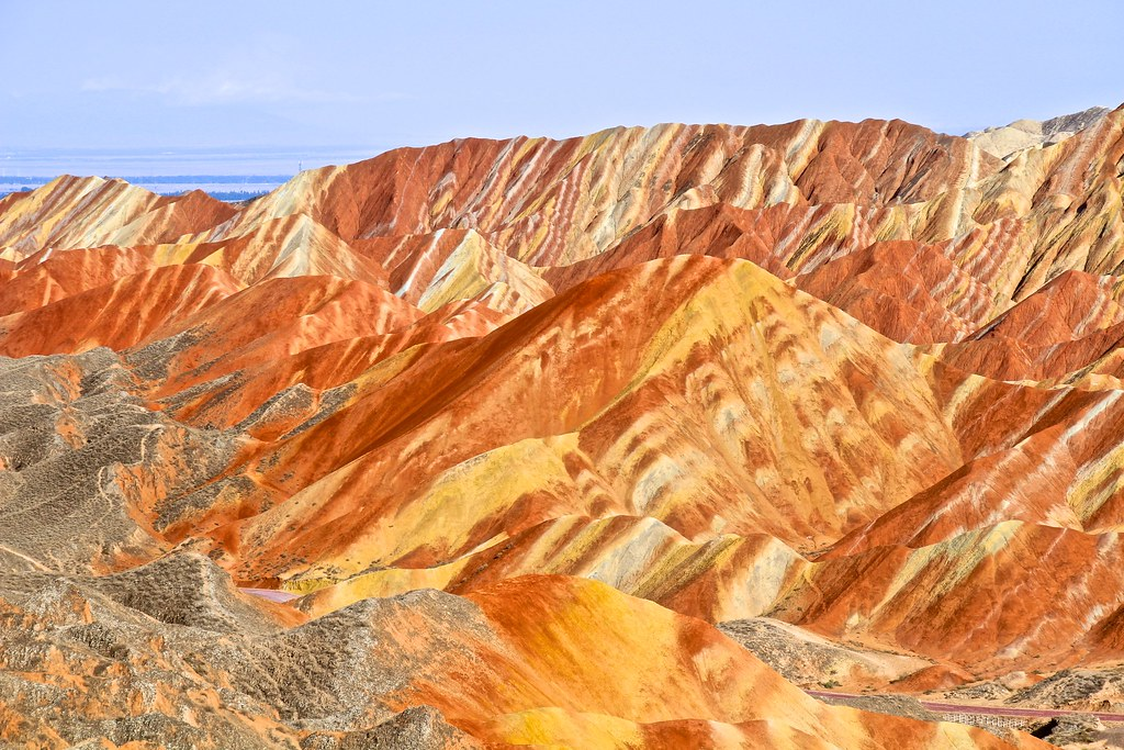 Rainbow Mountains - Zhangye Danxia Geological Formation