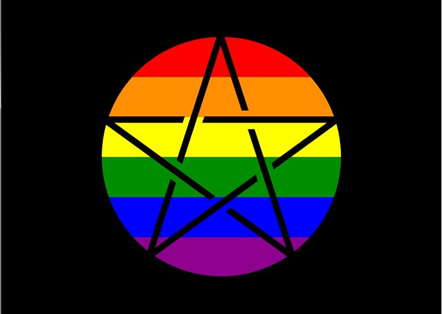 Queer Pagan Flag