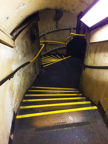 Borough Tube Station Stairs