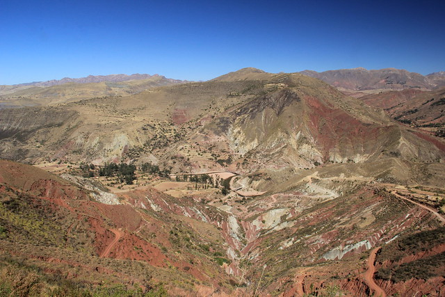 The Maragua Crater. Just look at those colours!