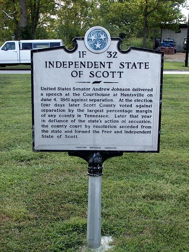 Historical Marker: Independent State of Scott