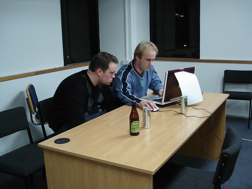 "Team ""Starsky & Hutch"" at the Wellington.PM HackOff2008 