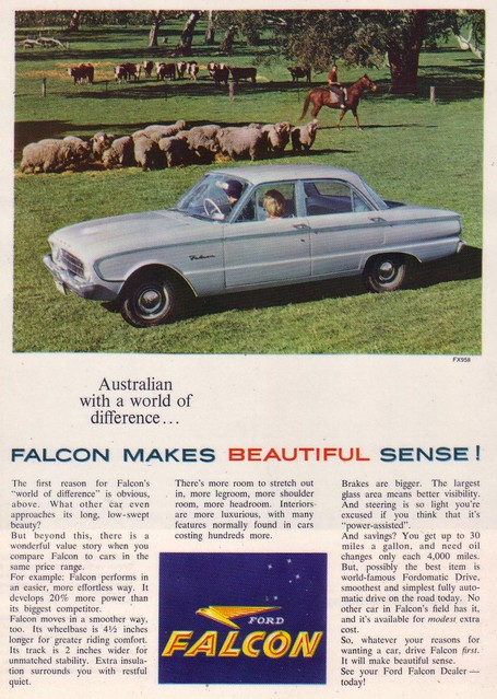1960 Ford XK Falcon Ad