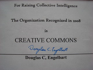 Collective Intelligence Recognition Award | by mlinksva
