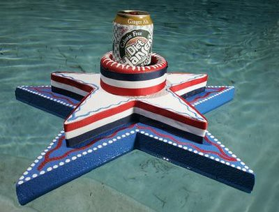 4th of July Craft: Pool Float | by craftychica