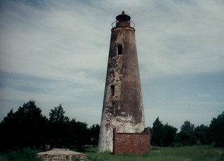 Sapelo Island Lighthouse c. 1990 | by MDB 28