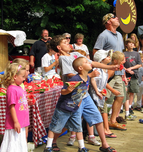 RC Cola and Moon Pie Festival: Watermelon Seed Spitting Contest