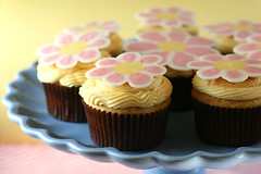 Flower Cupcakes | by Bakerella