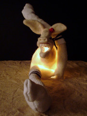 Lucie, needle felted lamp | by Licorice Tree / Tobiah P. Mundt