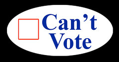 Can't Vote | by Daquella manera