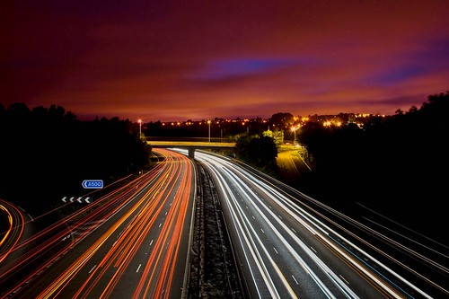 light trails | by davidwoodphotos.co.uk