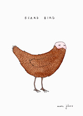 Beard Bird | by Marc Johns