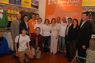 Leader Pelosi visits The Trevor Project's Harvey Milk Call Center | by TheTrevorProject