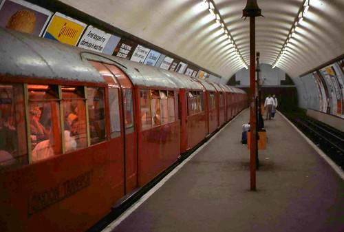 1938 Tube Stock at Clapham Common