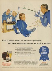 Odd ad for Pabst Blue Ribbon Beer | by SA_Steve