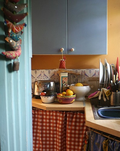 Cluttered kitchen corner | by *Susie*