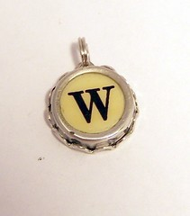 Letter W Vintage Typewriter key charm | by Keys And Memories