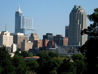 Raleigh skyline from Dix Campus | by twbuckner
