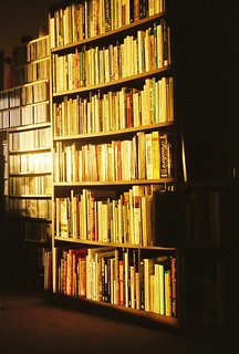 Bookcase at Sunset | by anthonylibrarian