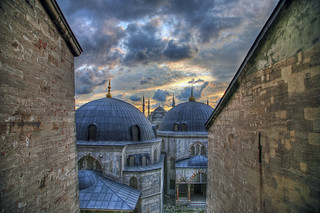 The Blue Mosque from Hagia Sophia | by lachance
