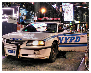 NYPD in Times Square | by aldask