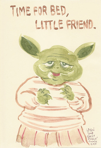 Yoda sketchbook Vol. 2 page 11 - Lark Pien | by Mike Baehr