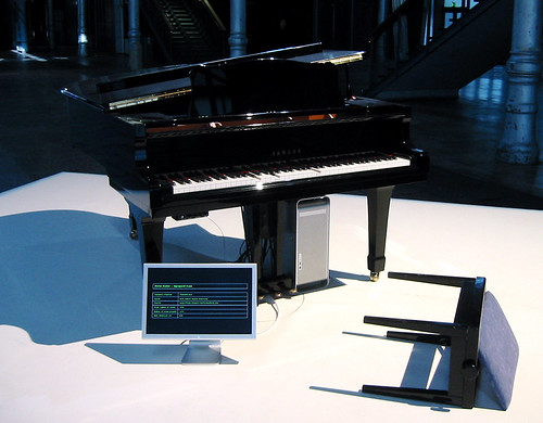 Thomson & Craighead, Unprepared Piano, 2003 | by eyebeamnyc