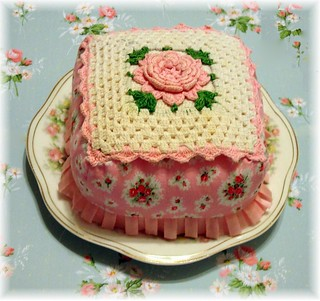 Pink Cake | by She'sSewPretty
