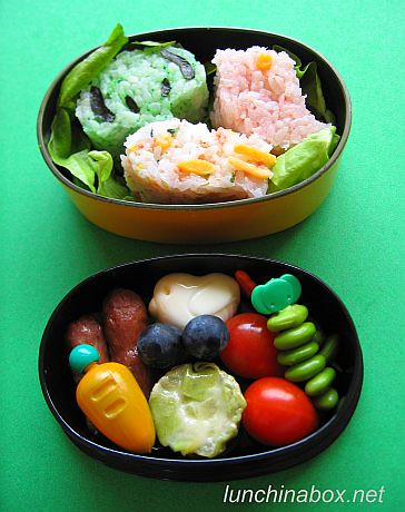 Cute bento lunch for live TV shoot | by Biggie*