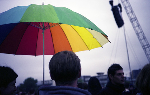 in rainbow(s) umbrella | by atomicjeep