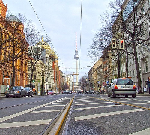 "The ""O'burger"" Street at Berlin Mitte 