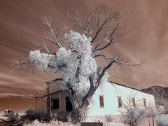 Gleeson Ghost Town - Infrared | by Bill Gracey